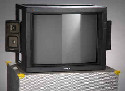 27inch Sony Cube and Case